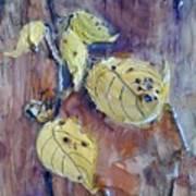 Native Yellow  Art Print