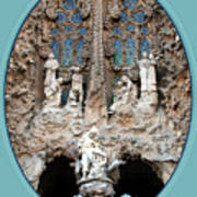 Nativity Barcelona Art Print