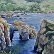 Natural Arch - Carmel Art Print