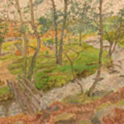 Natural Beauty Of Grindleford Art Print