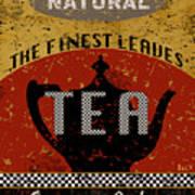 Natural Tea Art Print