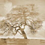 Natural Tree Art Print