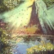 Nature Angel Art Print
