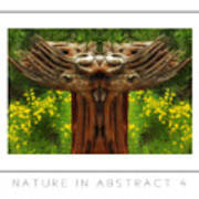 Nature In Abstract 4 Poster Art Print