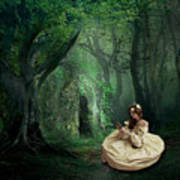 Nature Is Her Adornment Art Print