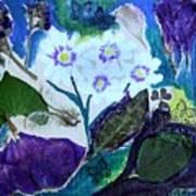 Nature Ll  Collage Art Print