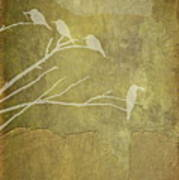 Nature Study In Gold  Art Print