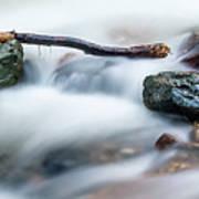 Natures Balance - White Water Rapids Art Print