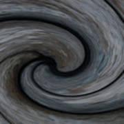 Nature's Illusions- Yin And Yang Art Print