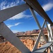 Navajo Bridge Art Print