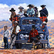 Navajo Grandstand Art Print