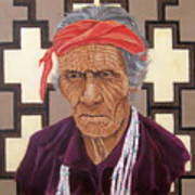 Navajo Medicine Man Art Print