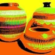 Navajo Pots Art Print