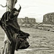 Navajo Saddle Art Print