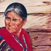 Navajo Woman Art Print