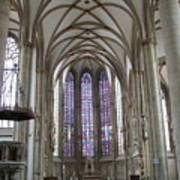 Nave - St Lambertus - Germany Art Print