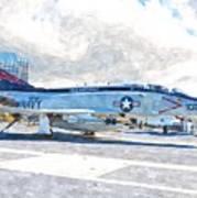 Navy Aircraft Art Print