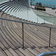 Navy Pier Stairs Art Print