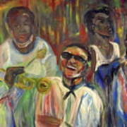 Nawlins Jazz Art Print by Made by Marley