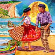 Nazare Portugal Art Print