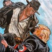 Nazis. I Hate Those Guys. Art Print