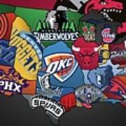 NBA Art Print