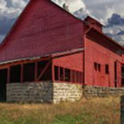 Nc Red Barn Art Print