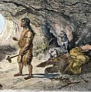 Neanderthal Man Art Print