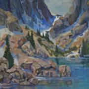 Near Hayden Spires Art Print