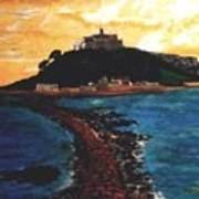 Near Penzance St. Michaels Mount Art Print