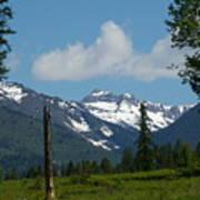 Near Sparwood British Columbia  Art Print