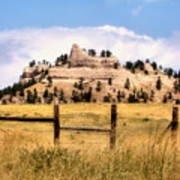 Nebraska Buttes Art Print