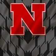 Nebraska Cornhuskers Uniform Art Print