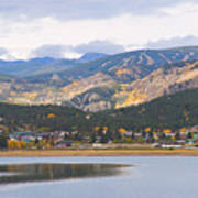 Nederland Colorado Scenic Autumn View Boulder County Art Print