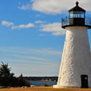 Neds Point Light Art Print