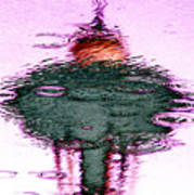Needle In A Raindrop Stack 2 Art Print