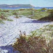 Needles From Hengistbury Head Art Print