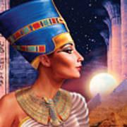 Nefertiti Variant 5 Art Print
