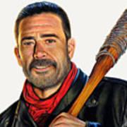 Negan - The Walking Dead Art Print
