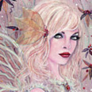 Neira Winter Fairy Art Print