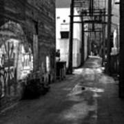 Nelson Bc Alley Art Print