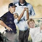 Nelson Mandela Invitation Art Print