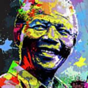 Nelson Mandela Madiba Art Print