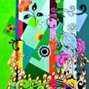 Nem Tudo Sao Flores Art Print