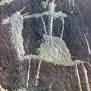 Neolithic Petroglyph Art Print