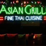 Neon Asian Grille Art Print