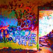 Neon Bunkers Art Print