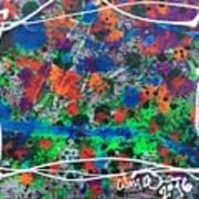 Neon Gumbo Art Print