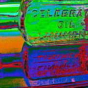 Neon Vessels Art Print