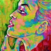 Neon Vibes Painting Art Print